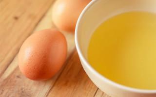 Рецепты приготовления белковой маски для устранения комедонов
