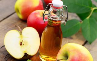 Особенности использования яблочного уксуса для прижигания папиллом: рецепты и советы
