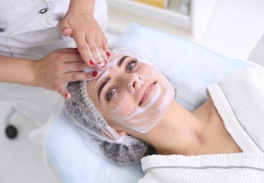 чистка у косметолога