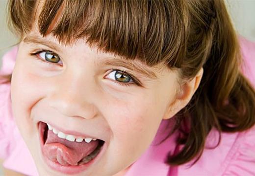 язык ребенка