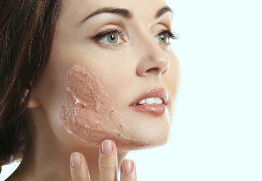 скрабирование кожи
