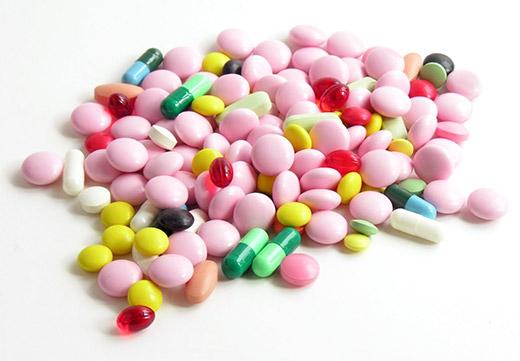 разные по форме таблетки