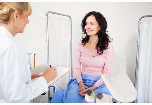 Обследование гинекологом