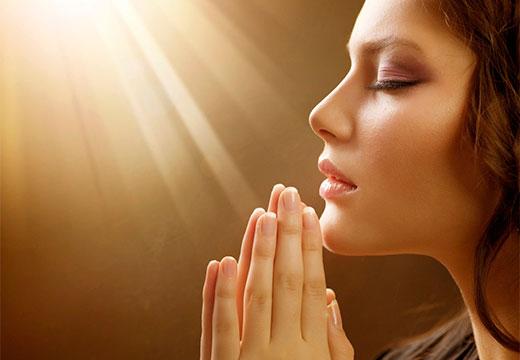 чтение молитвы