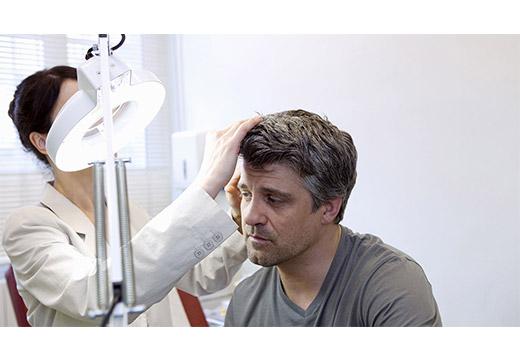 диагностика образования бородавок на голове
