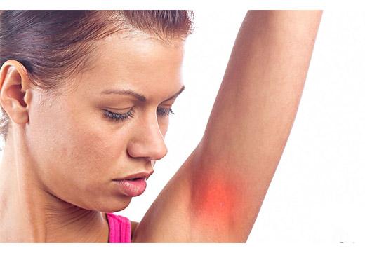 воспалительный процесс на коже под мышкой