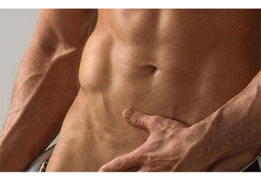 область мужских гениталий