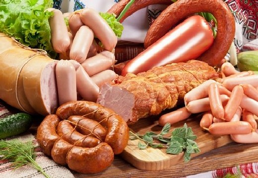 много колбасы