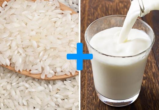 рис молоко
