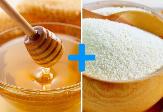 мед манная крупа