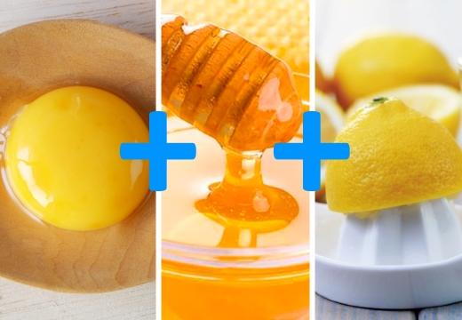 желток мед лимон