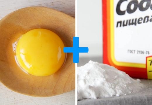 желток сода