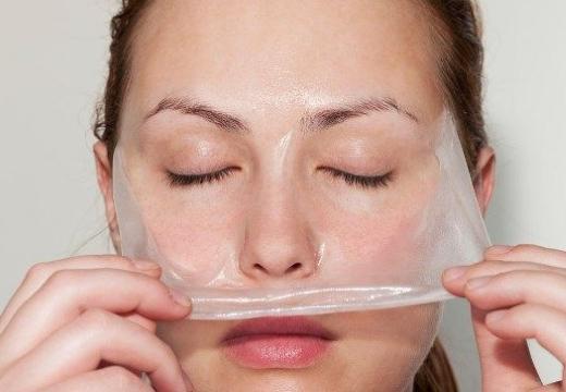 снимать пленочную маску