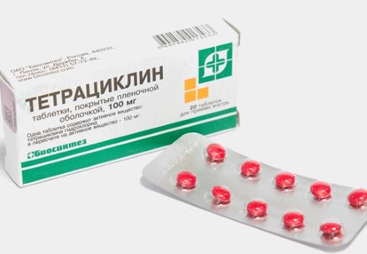 таблетки тетрациклина
