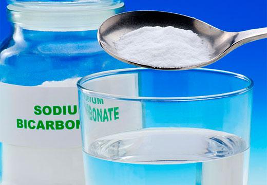 добавление соды в воду