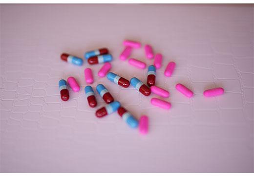 таблетки в форме драже
